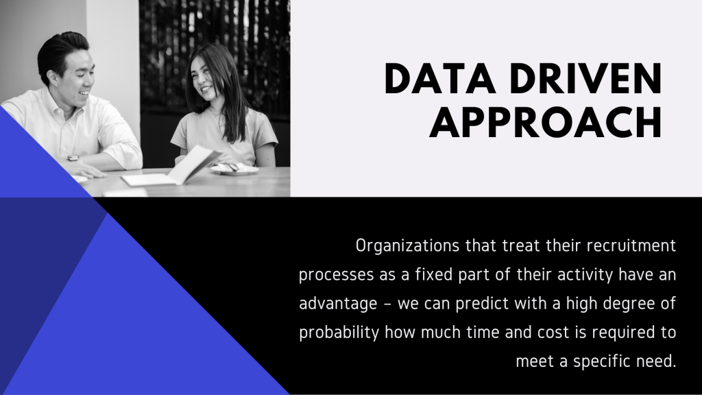 data driven approach in hiring and recruitment staff in it