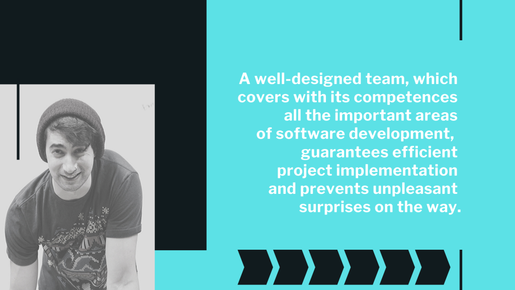 designed it software team importance in healthcare software development